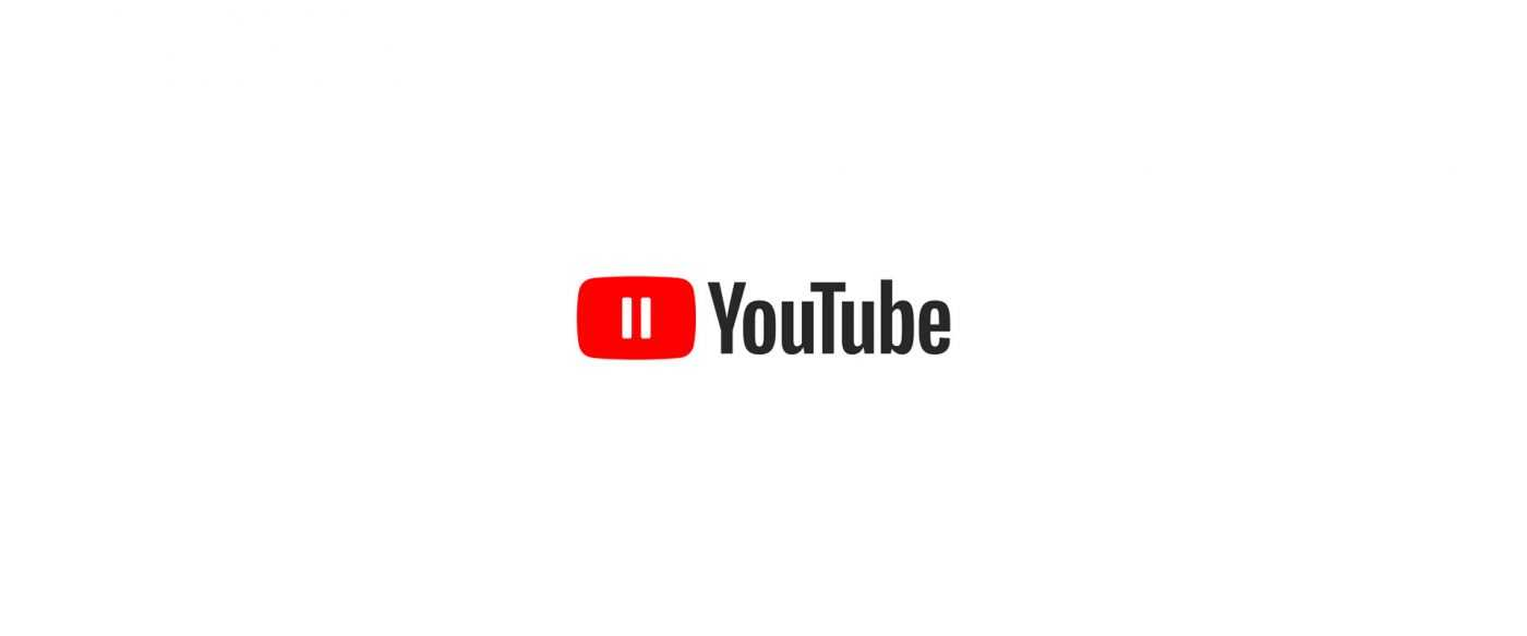 Corporate Logo Makeover - youtube plays while everyone pauses