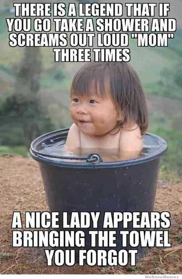 mothers day memes - mom meme about how a baby realizes mom is a magic word to summon a nice lady genie