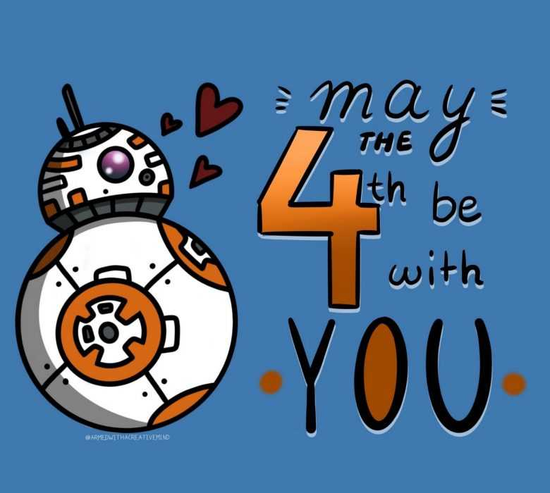 star wars day memes - may the 4th be with you memes - a bb8 greeting on this day
