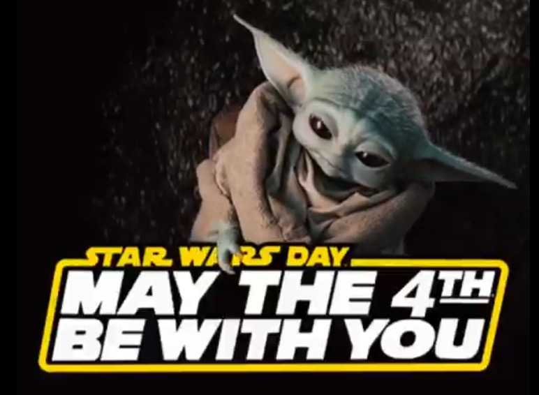 star wars day memes - may the 4th be with you memes - baby yoda greeting on this day