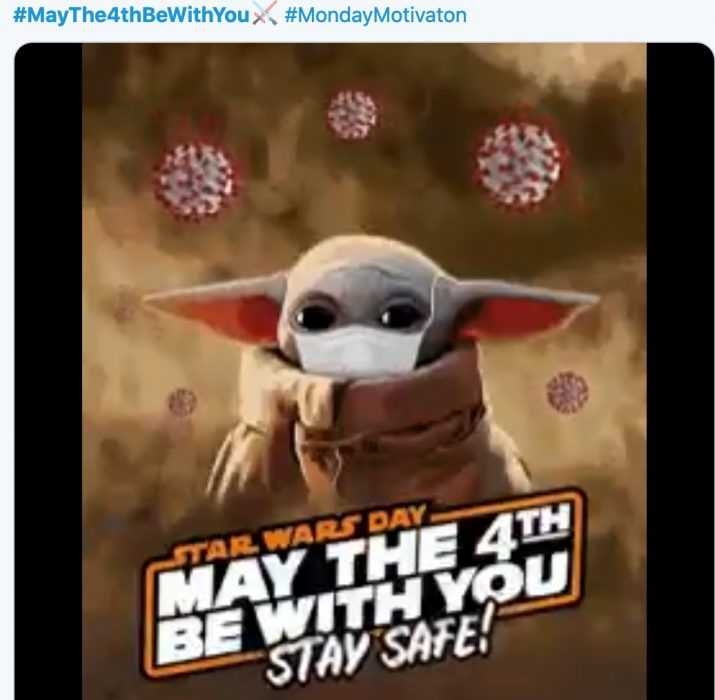 star wars day memes - may the 4th be with you memes - what baby yoda would say and do on may the 4th in 2020