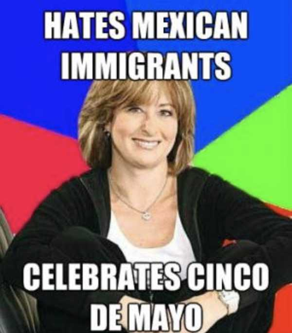 cinco de mayo memes - cinco de mayo meme showing the kind of people who celebrate cinco de mayo