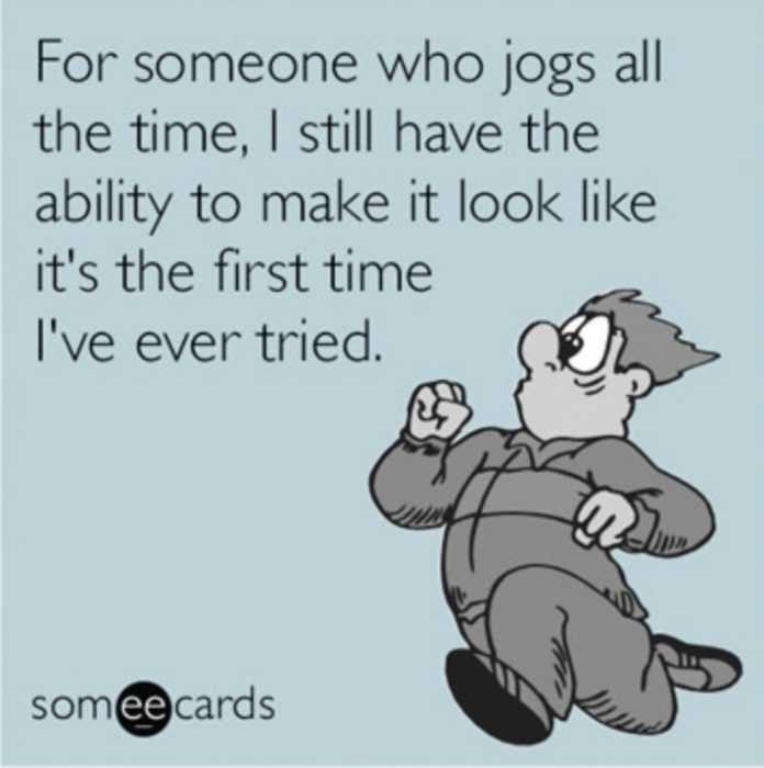 jogging meme