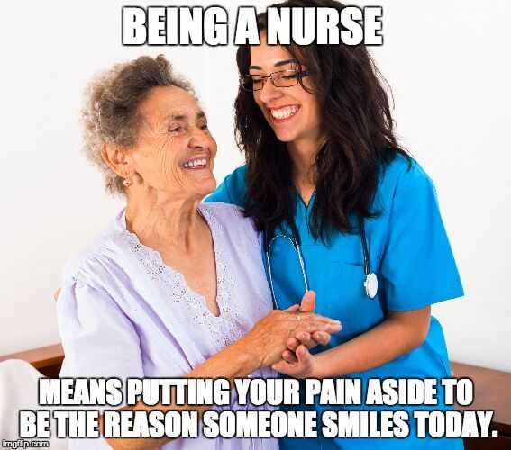 nurses week memes - nurses day meme - what being a nurse means