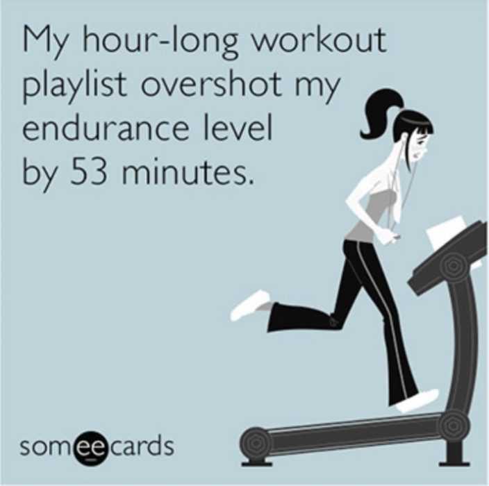 play list longer than endurance meme