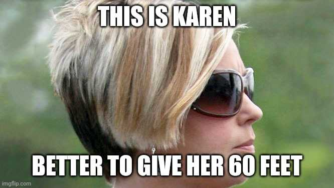 karen coronavirus memes - social distancing karen