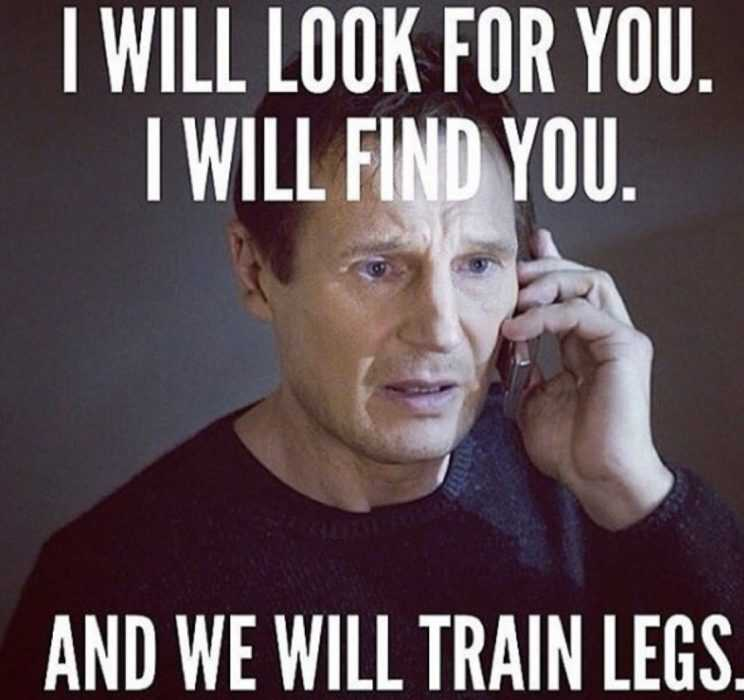 home fitness TAKEN on a new meaning meme