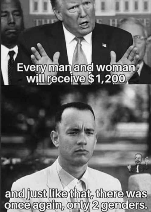 unemployment memes - transgender washroom issue solved meme