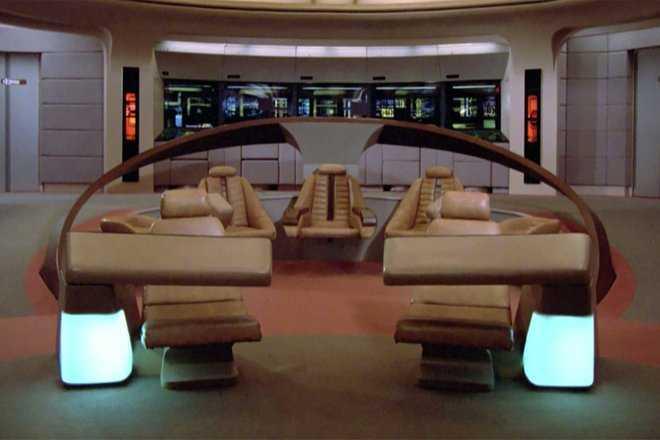 starship enterprise bridge zoom background