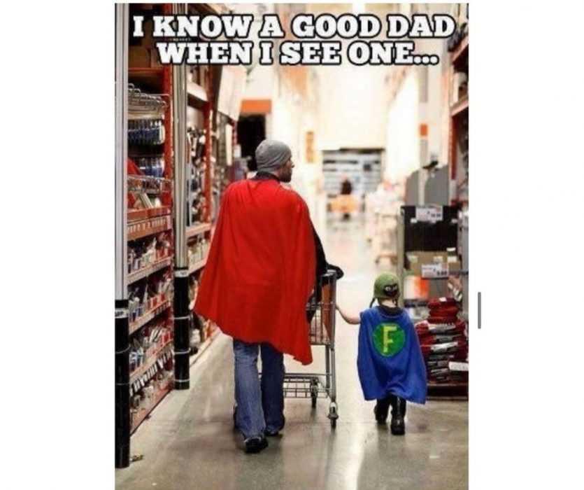cool dad meme