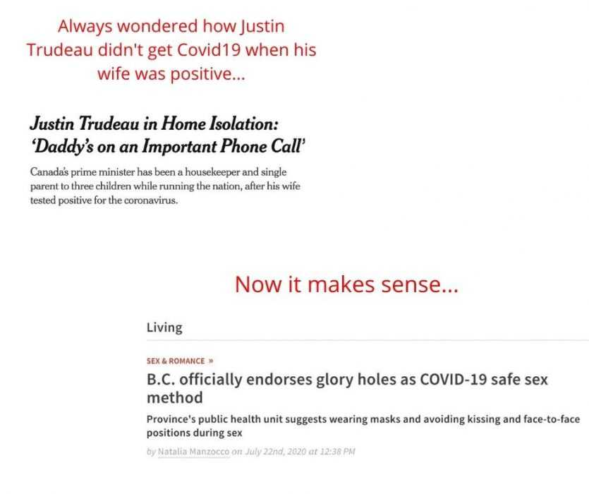 how justin trudeau avoided covid19