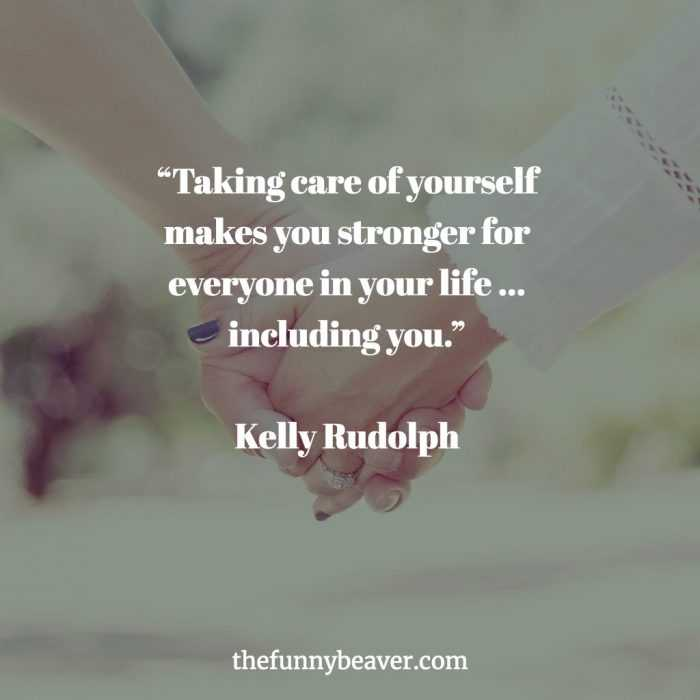 Quotes about self-care