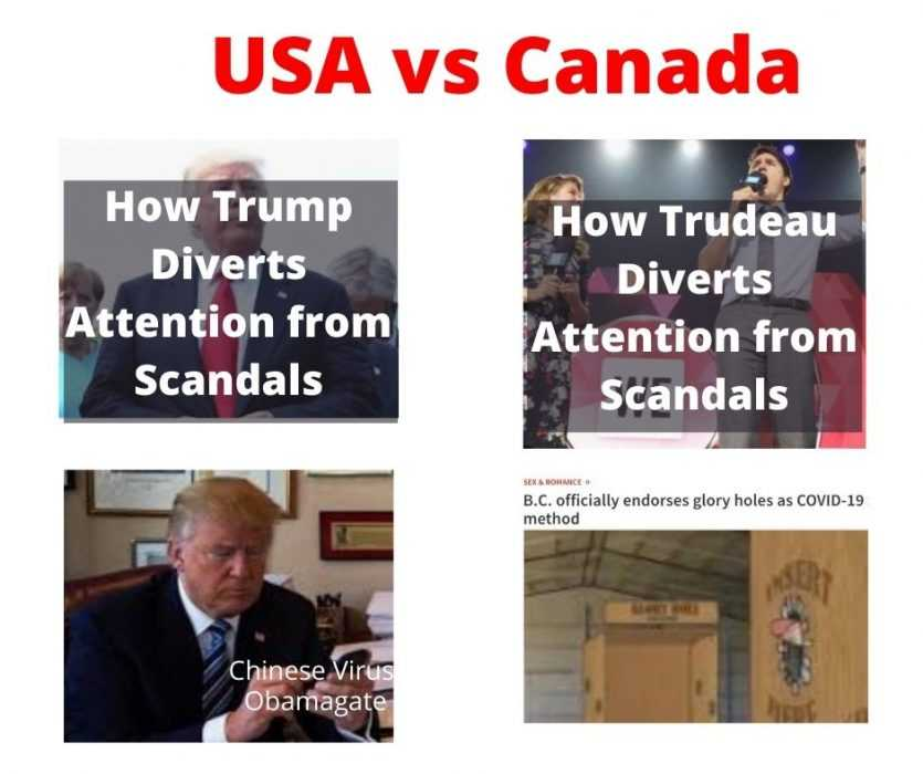 how usa and canada deal with scandals glory hole meme