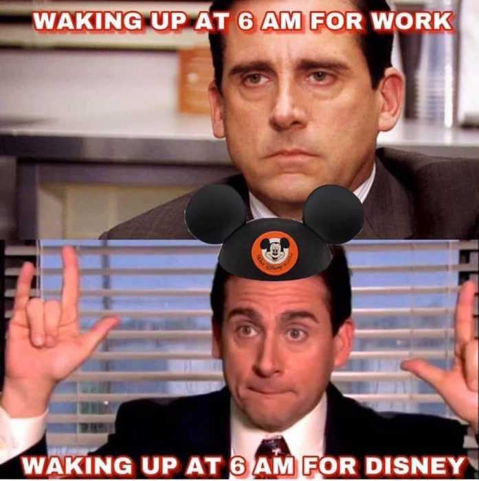 Hilarious Disney Memes About Waking At 6Am For Disney