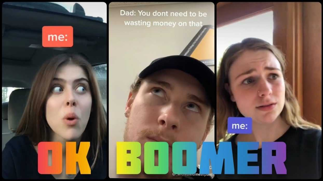 an ok boomer meme used to respond to dad's criticism