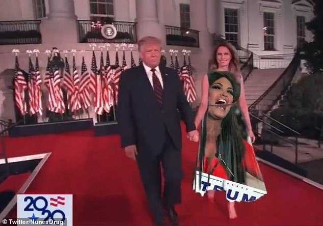 Melania Green Screen Dress Memes Kimberly