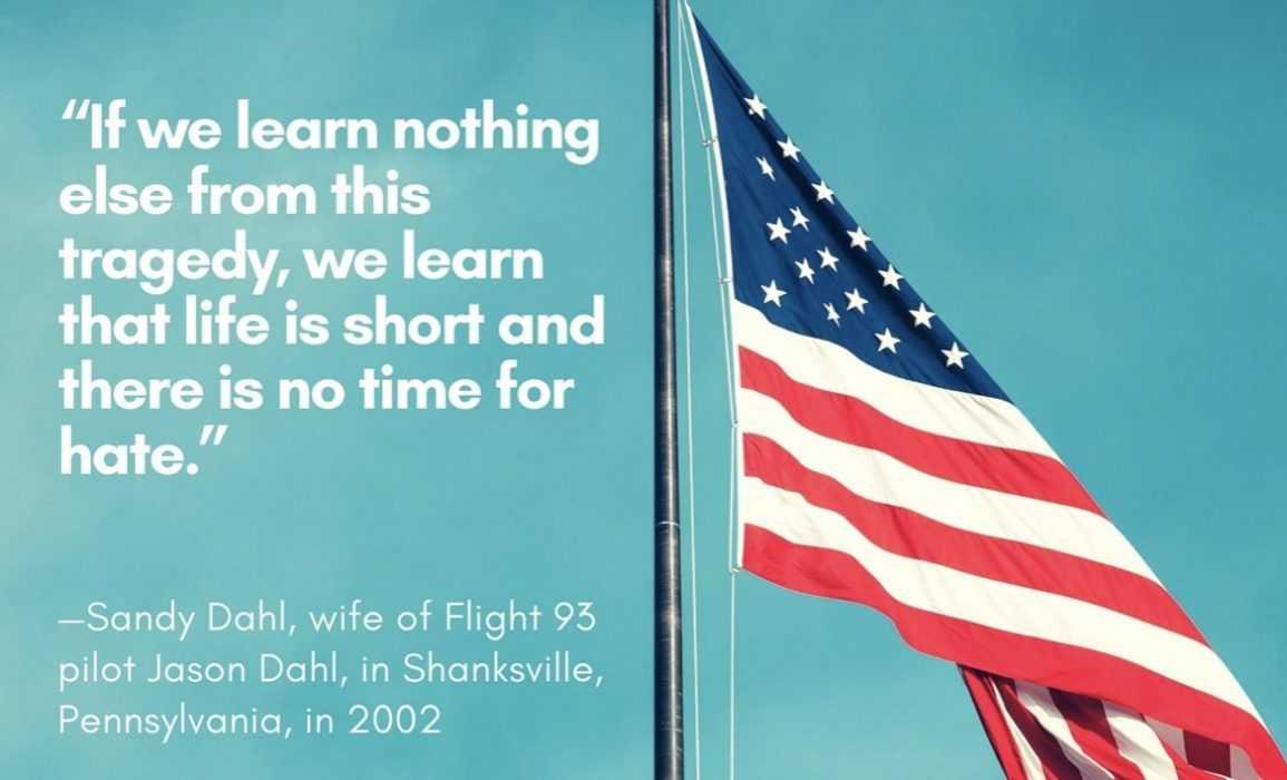 september 11 quotes - sandy dahl