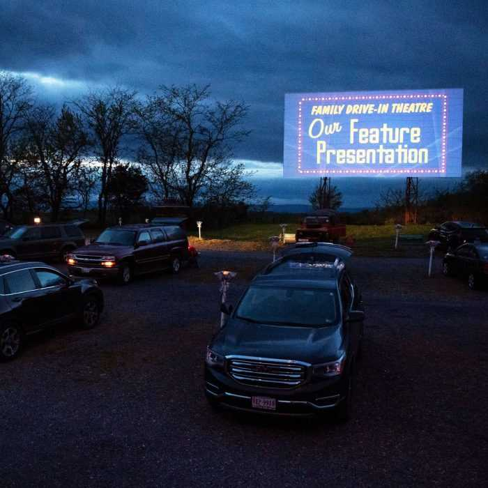 fall activities for adults - drive-in theater