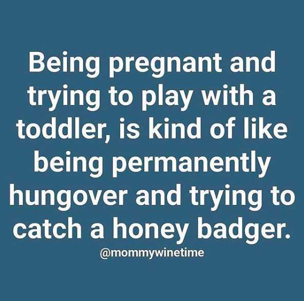 Funny parenting memes about second pregnancies