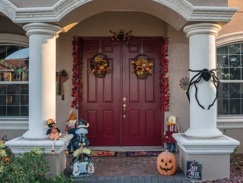 fall activities for adults - decorate the house