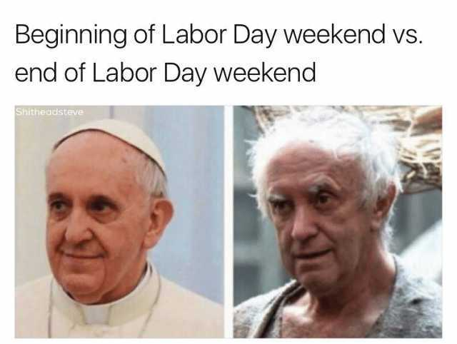 Funny Labor Day Memes game of thrones