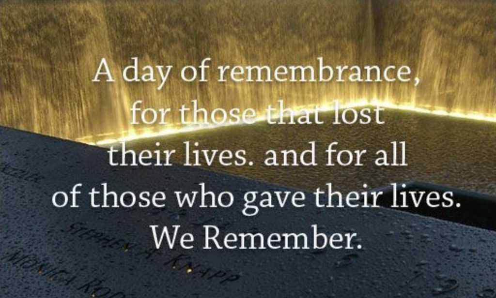 911 quotes - day of rememberance