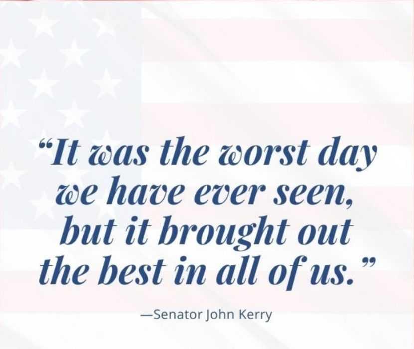 911 quotes - john kerry