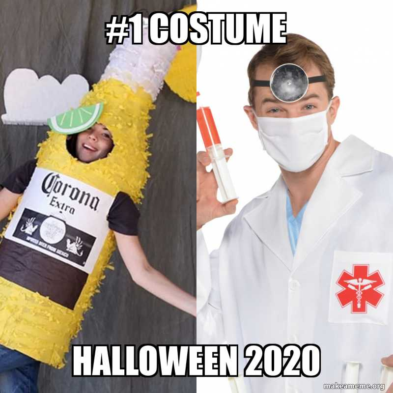 halloween 2020 meme 4 - costume