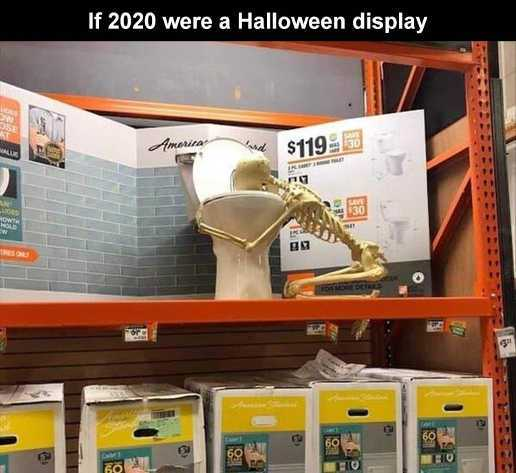 halloween 2020 meme 2 - gret display