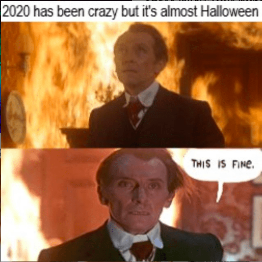 halloween 2020 meme 1 - fine