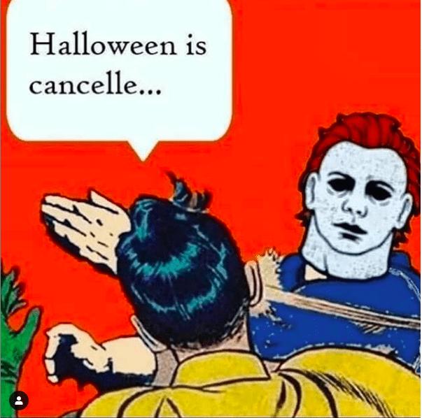halloween 2020 memes 2 - canceled