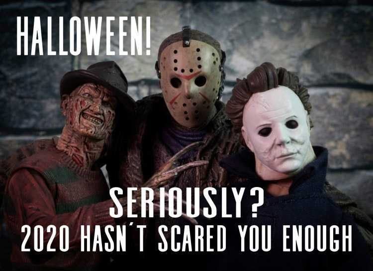 halloween memes - scared
