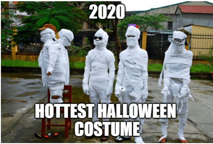 halloween memes 2 - toilet paper