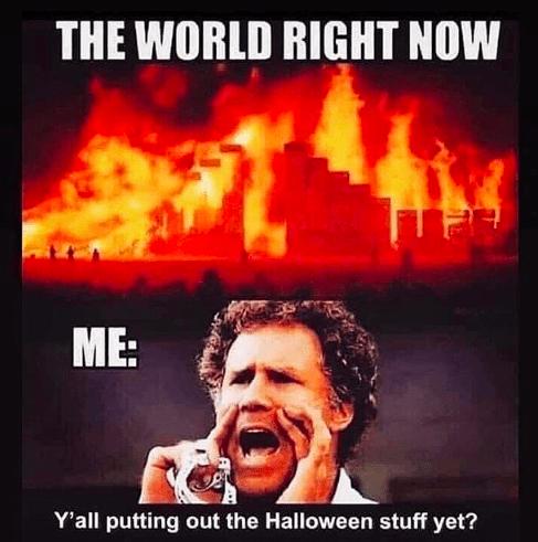 2020 halloween memes 3 - patience