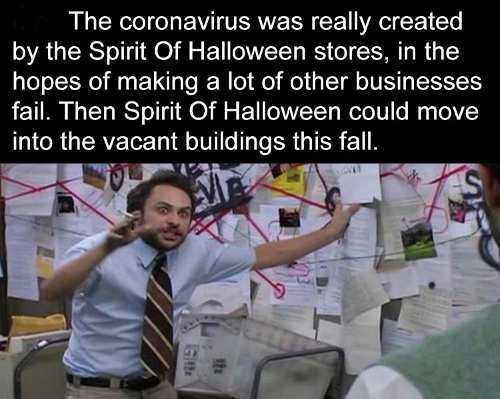 2020 halloween memes 9 - corona virus