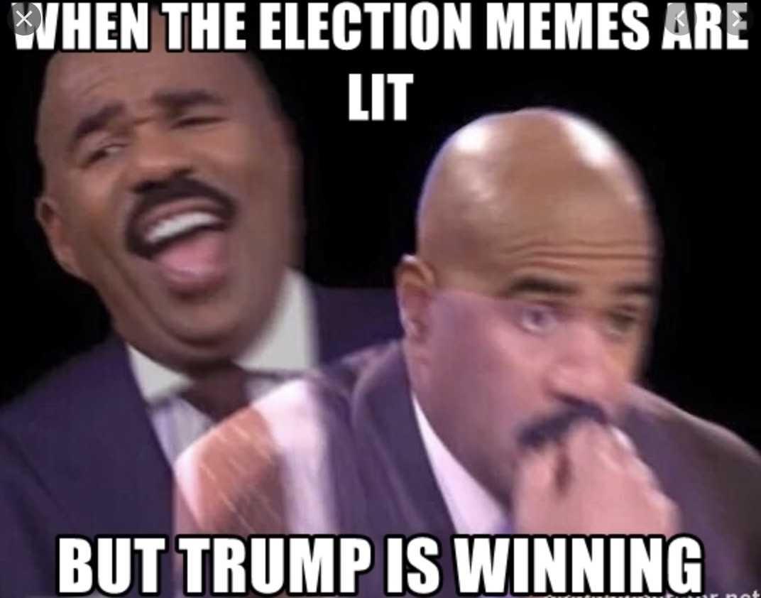 2020 election memes - trump winning