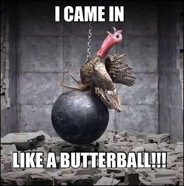 thanksgiving memes - butterball