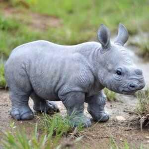 cutest baby animals - baby rhino