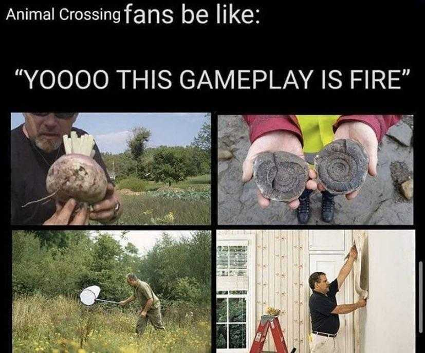 Funny animal crossing meme - such exciting developments