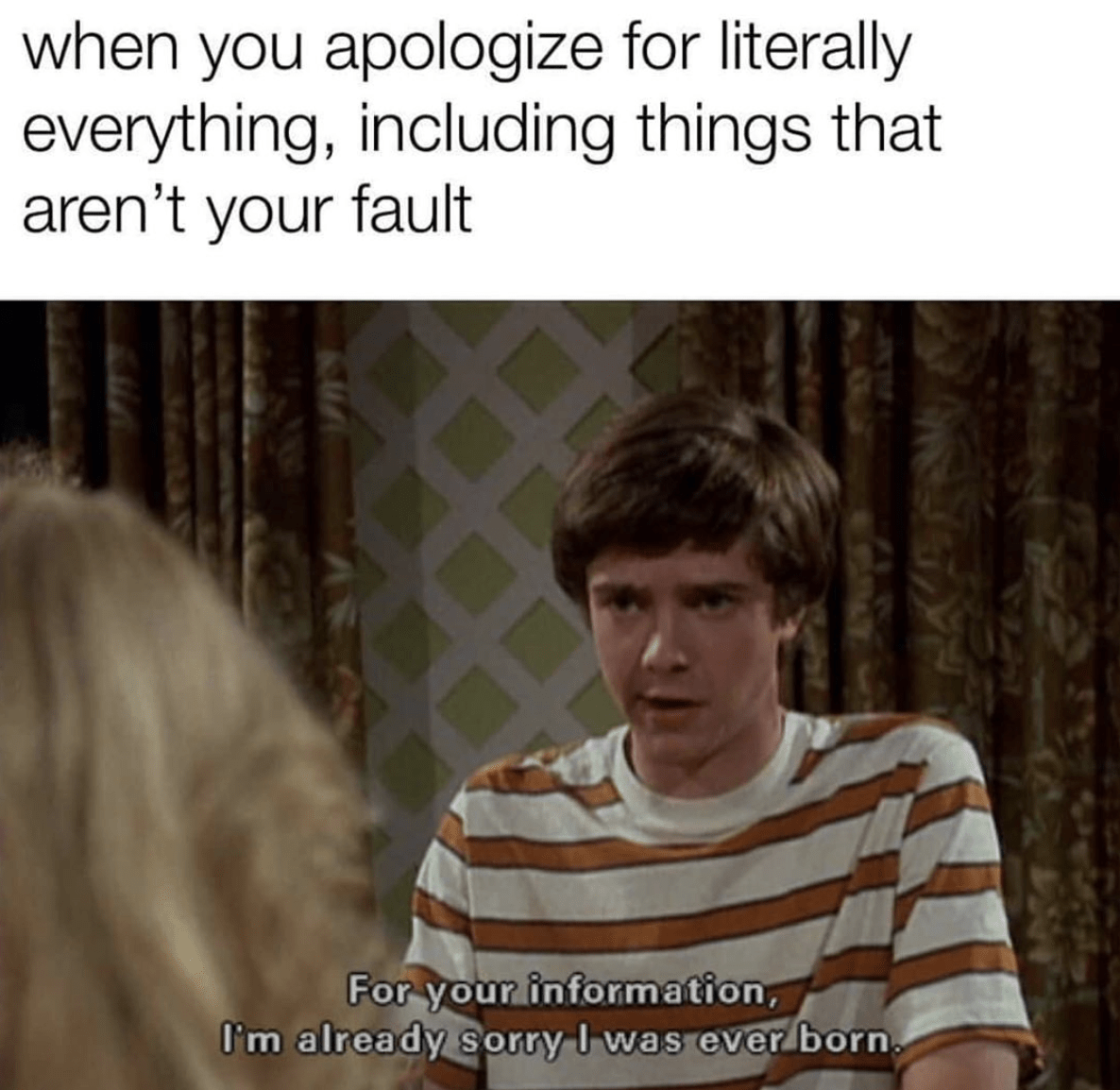 Anxiety Memes - Sorry