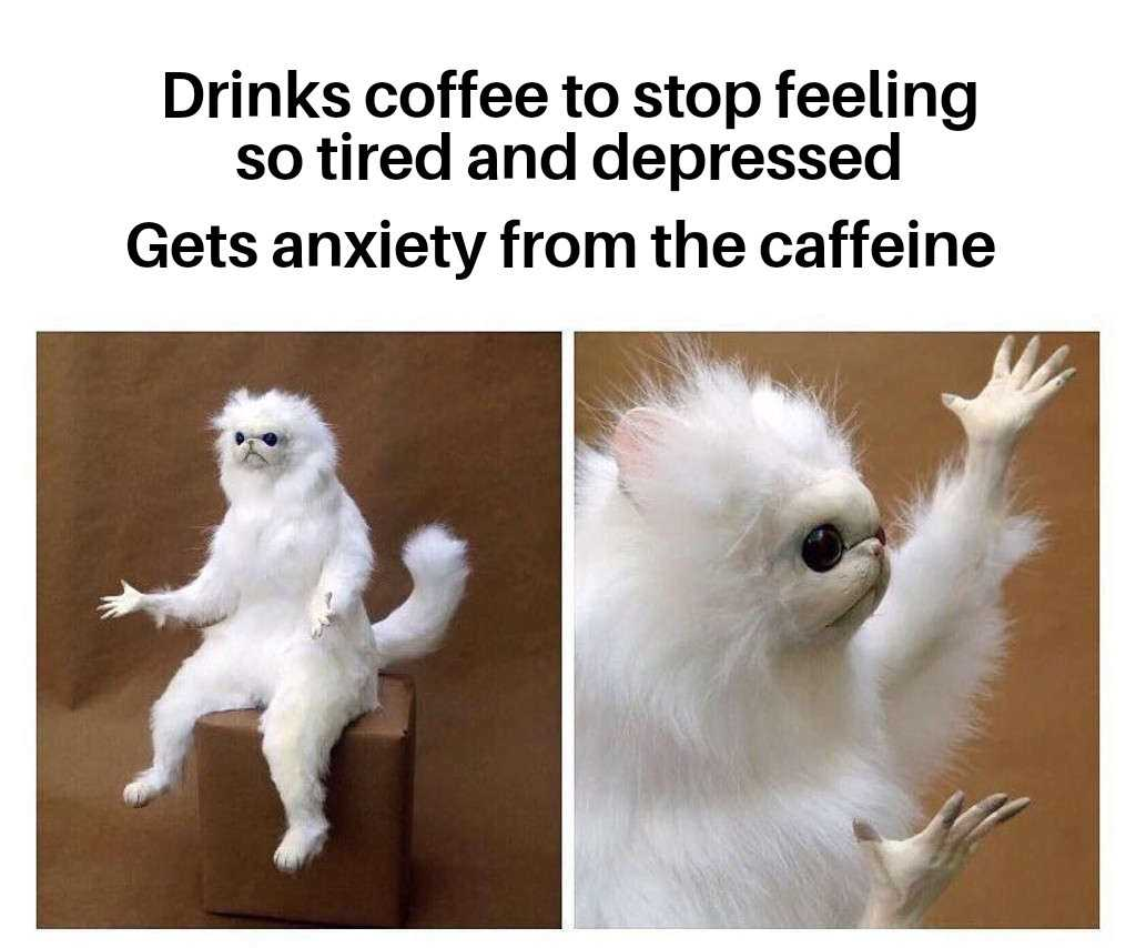 Funny Anxiety Memes - No Win