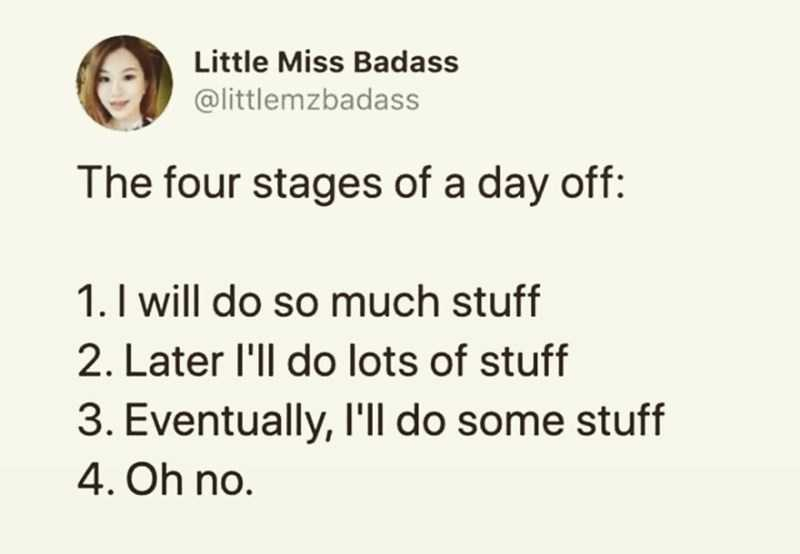 Funny Anxiety Memes - Four Stages