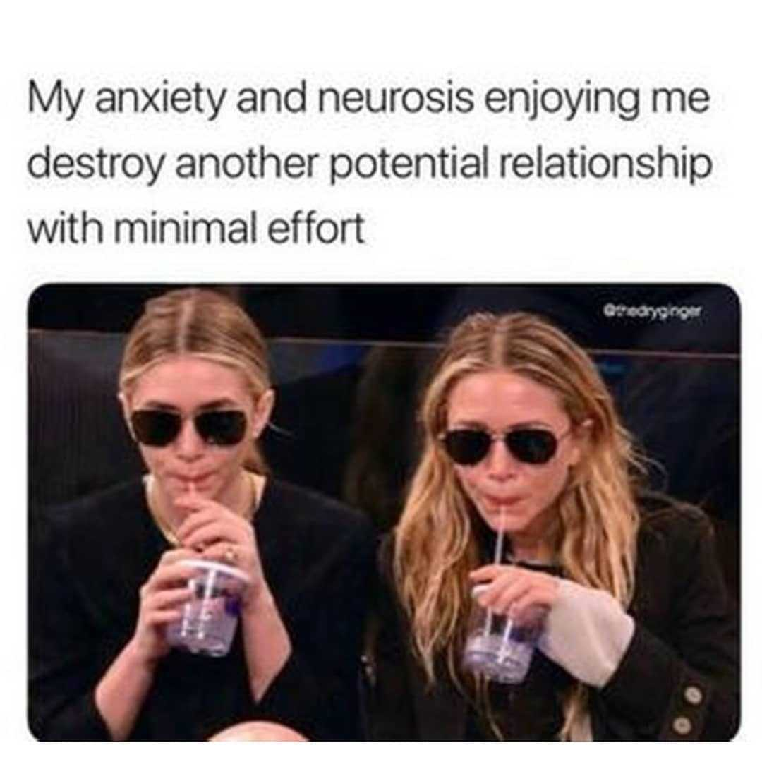 Funny Anxiety Meme - Just Watching