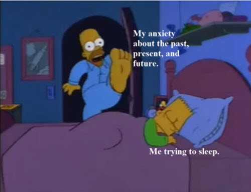 Funny Anxiety Memes - Sleep Disturber