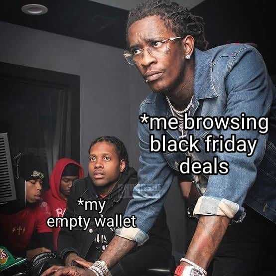 Funny Black Friday Memes - just browsing