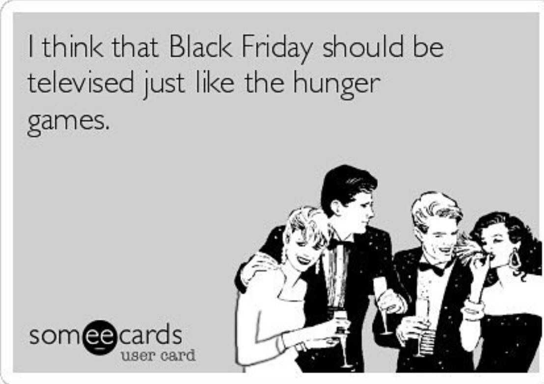 Black Friday Meme - hunger games