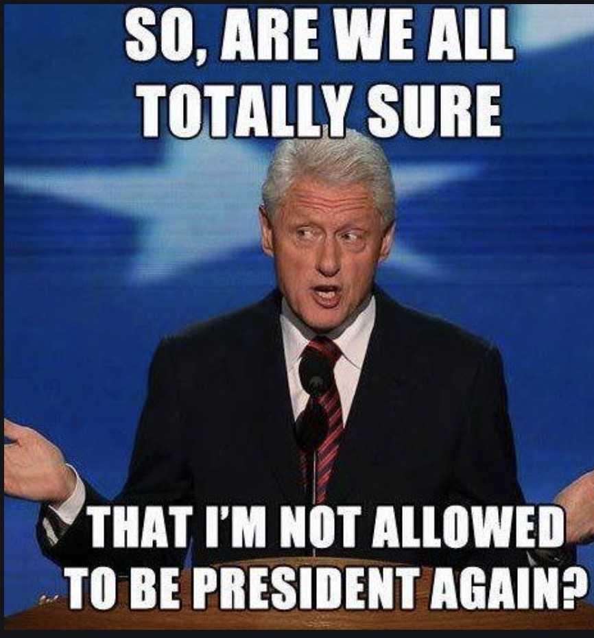 election meme - bill clinton