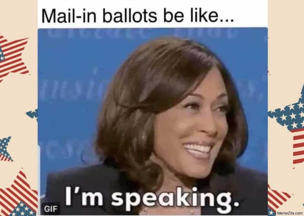 funny life memes - mail in ballots
