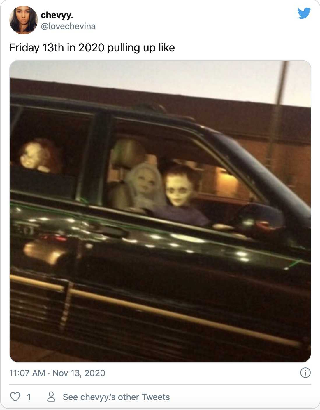 2020 friday the 13th memes funny - just cruising