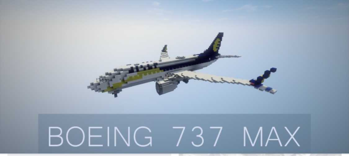 funny 737 max memes - minecraft plane